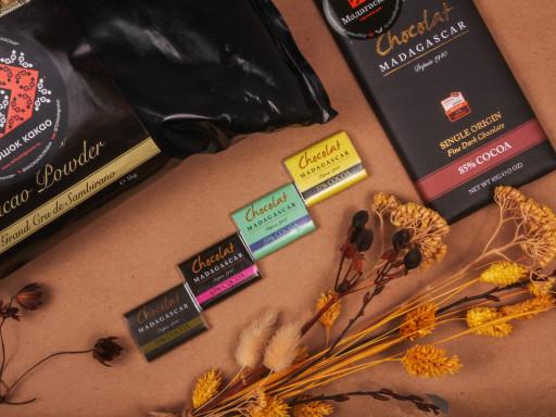 Подарочный набор «Какао + темный шоколад»