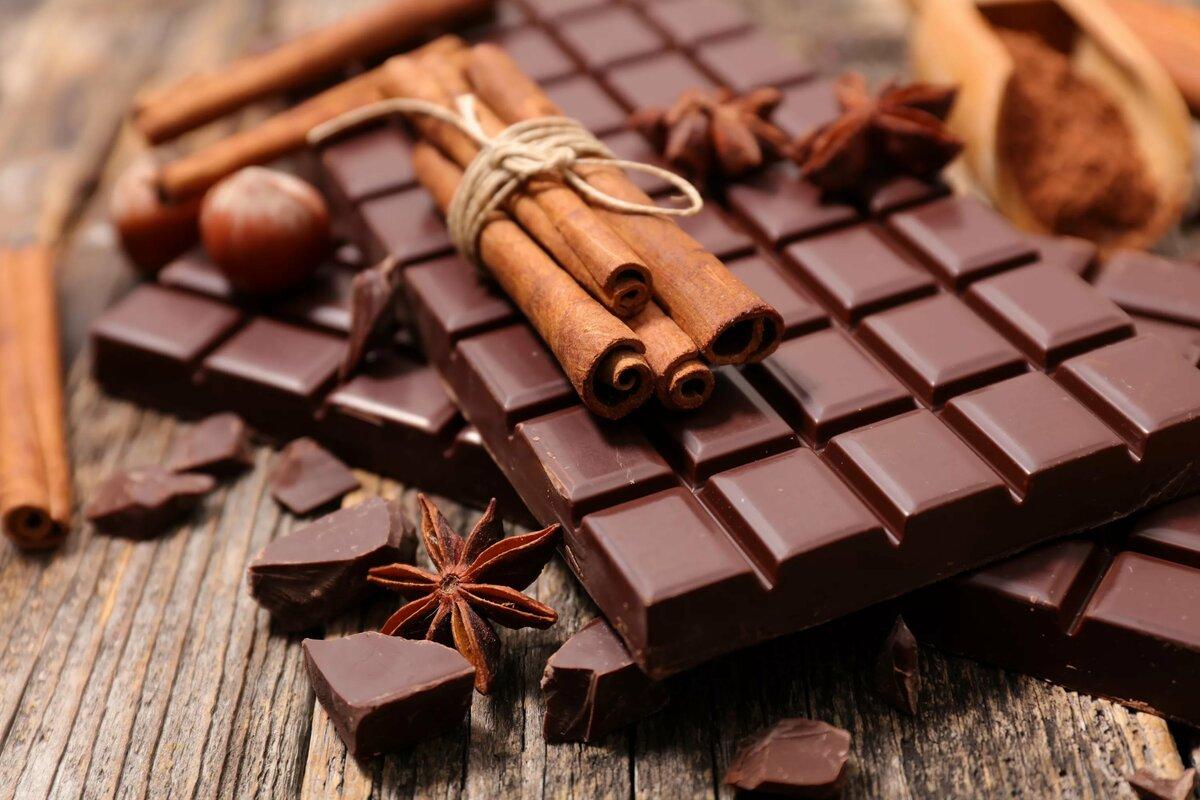 Польза натурального шоколада