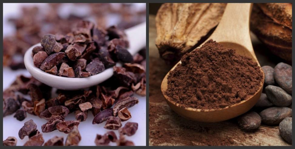 Какао - крупка VS какао-порошок