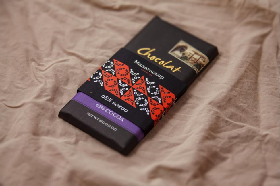 Золотая Коллекция. Темный молочный шоколад 65% какао