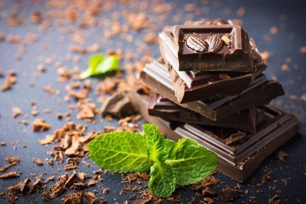 Дневная норма шоколада